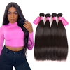 Factory wholesale 100% Unprocessed raw virgin human hair bundles waves high quality virgin cuticle aligned hair