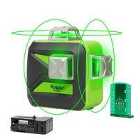 HUEPAR Self-leveling Laser 603CG ,Multi Outdoor pulse mode 3*360 Alignment 12 Line Green 3D Laser Level