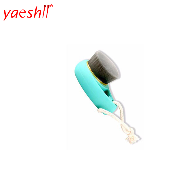 Yaeshii Ultrasoft Skin Care Plastic Handle Facial Exfoliator Cleaning Brush