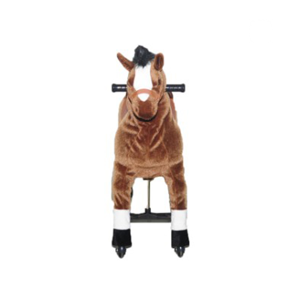 Riding animal <strong>plush</strong> stuffed rocking horse toy for kid party game