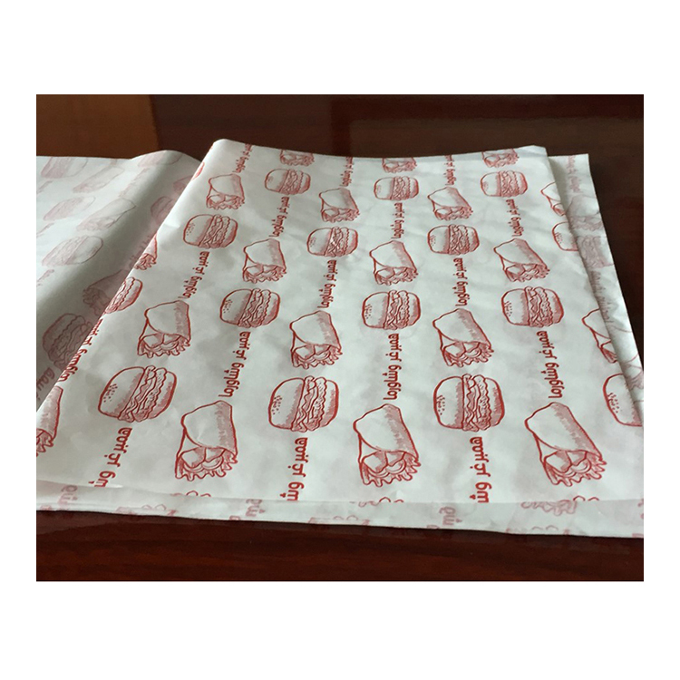 28gsm Hamburger Wrapping Paper, Greaseproof One Side PE laminated Paper