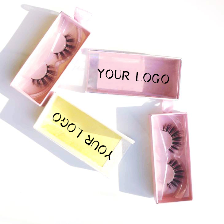 False Eyelashes 3d Mink Lashes Private Label Packing 25mm Different Lengths Handmade Mink Eyelashes
