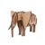 New design DIY elephant shape home decoration table decoration