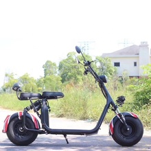 fat tire Electric motorcycle 2 wheel citycoco scooter adult electric city coco 1500w 60v lithium battery