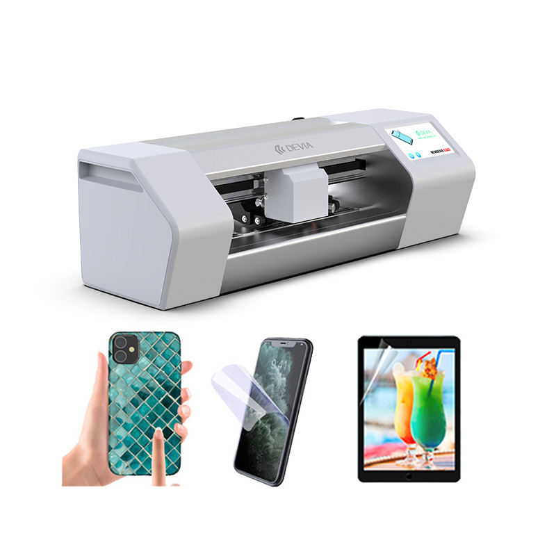 Devia Customized smart film tpu mobile glass protector making machine screen <strong>cutter</strong>