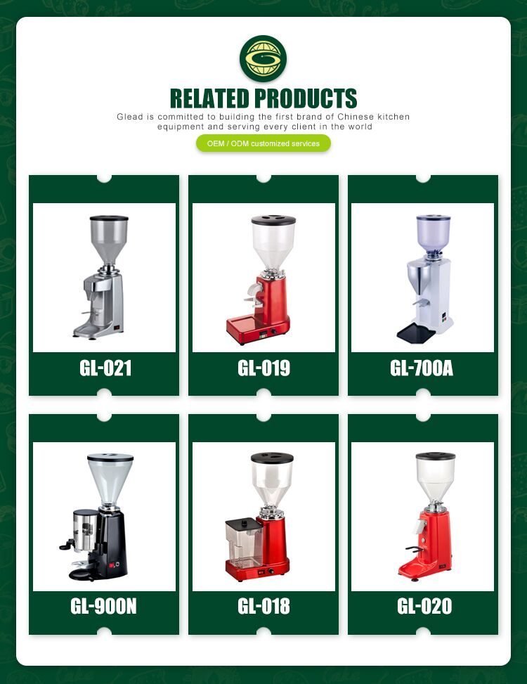 Large Capacity Automatic Italian Coffee Grinder For Commercial Use  imported Grinding Stone