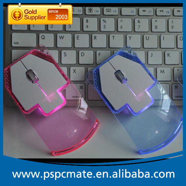 Novelty Gift LED Light Wireless Mouse, Promotion Gift Portable Computer Mouse Wireless