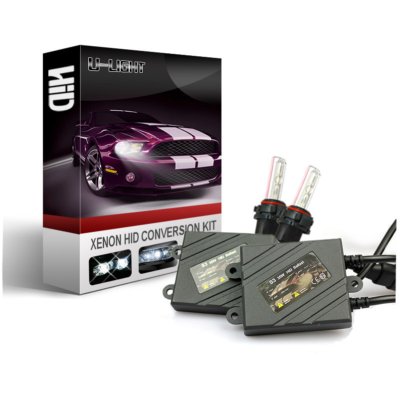 Factory xenon hid kit H1 H3 H4 H7 H13 35W slim hid ballast with 24 months warranty HID xenon kit