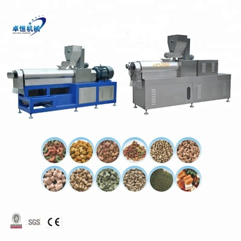 Electric Extrusion Pet Dog Food Making Machine Production Line