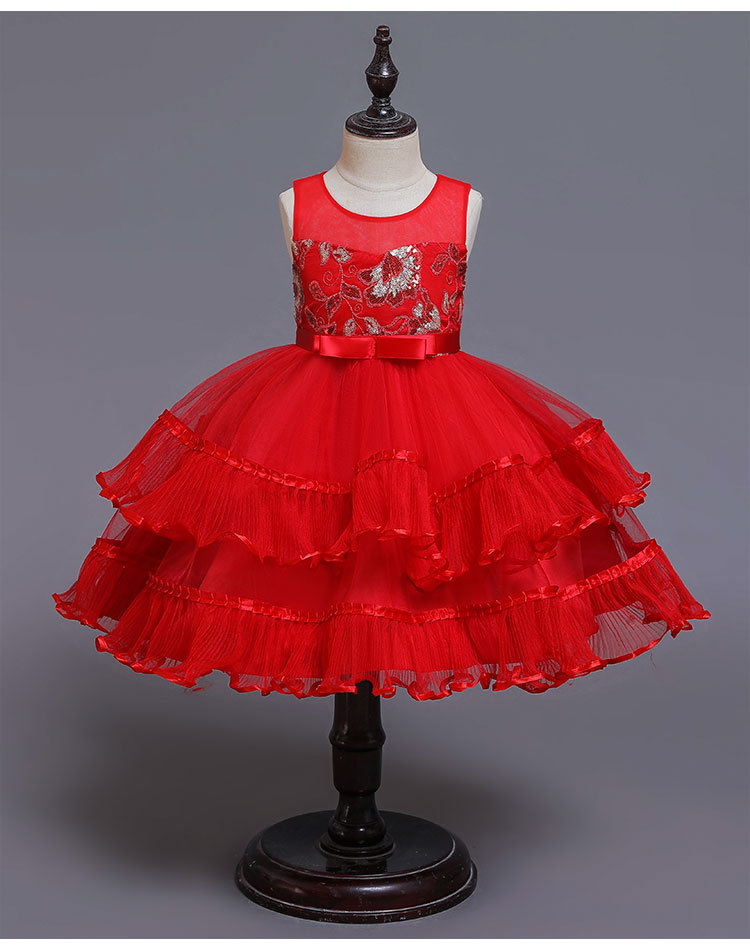 New Arrivals Flower Girl Dress Boutique Clothing Layered Elegant Party Ball Gown <strong>A08</strong>