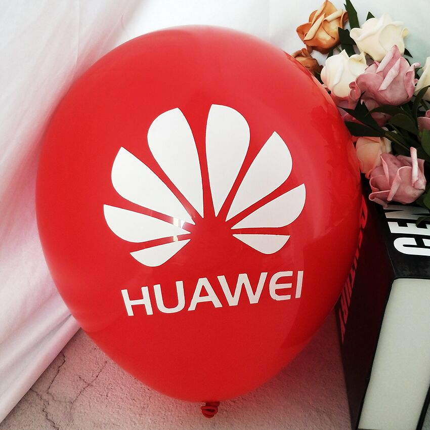 Red printed balloon for sale
