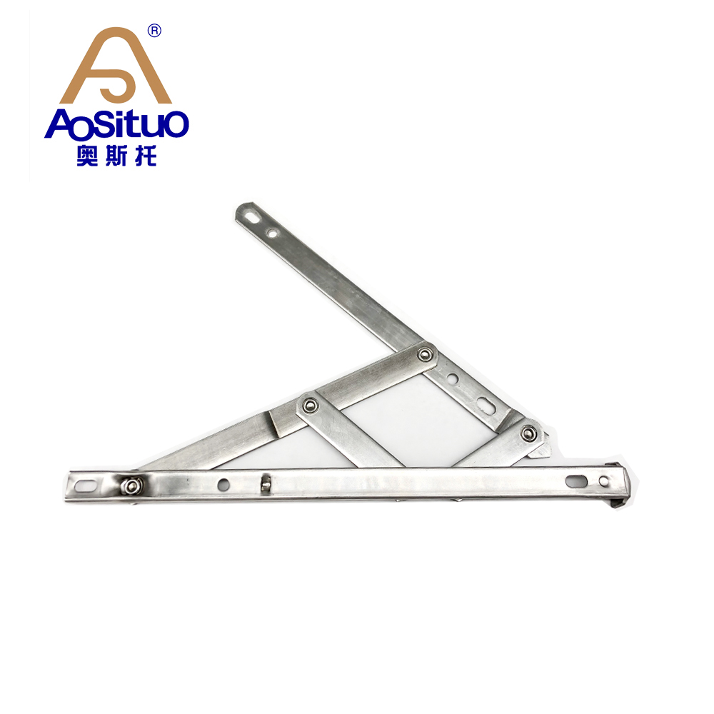 Ready to ship 13.4mm Square groove Stainless steel hot sale window stay <strong>friction</strong> hinge