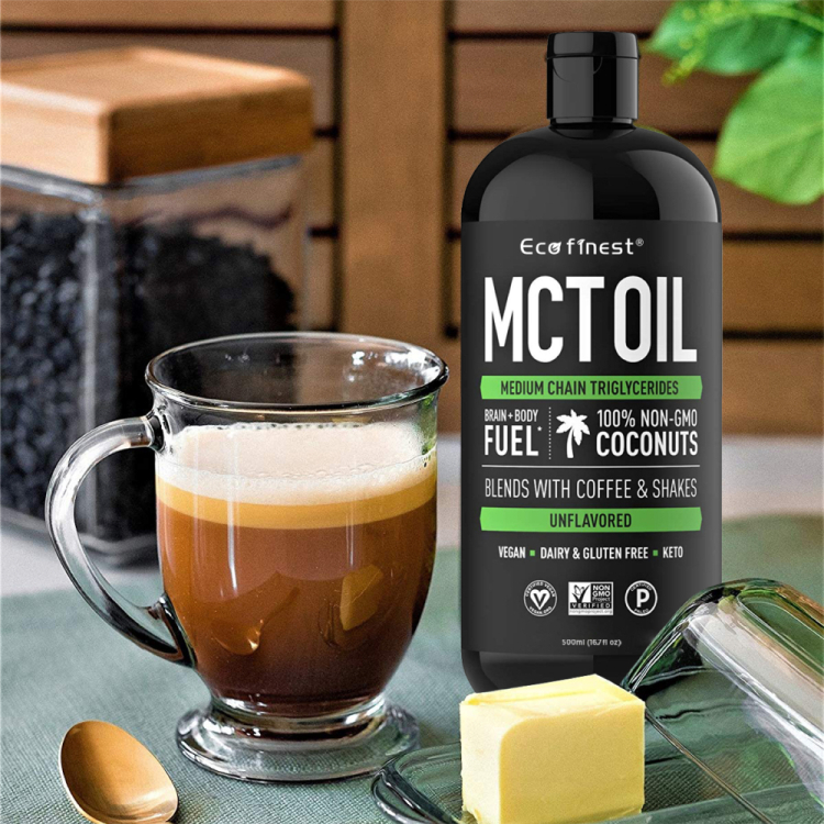 Private Label Organic Food Grade Coconut MCT Oil