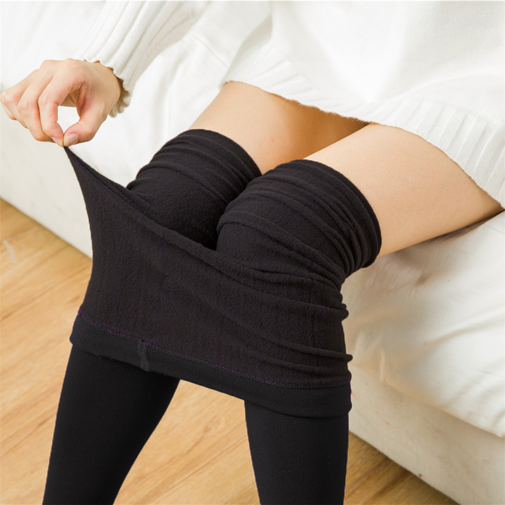 Polar Fleece Winter Legs Thicken Warm Skinny <strong>Plus</strong> Size Slimming Leggings Anti Cellulite Leggings