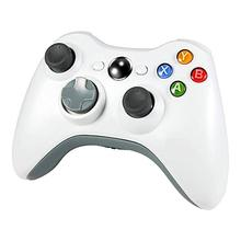 Wireless Controller for Xbox 360 2.4GHZ Gamepad Joystick Controller <strong>Remote</strong> for Xbox 360 Console &amp; PC Windows 7,8,<strong>10</strong> -White