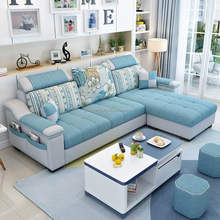 SF004@1Modern Design L Shaped fabric Sectional Sofa Good quality Sofa Hot Sale Home <strong>furniture</strong>