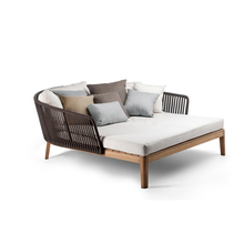 Modern luxurious outdoor daybeds with cushion