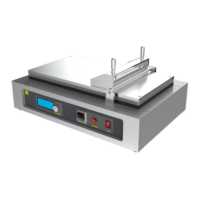 Bench top automatic tape casting film coater with adjustable doctor-blade
