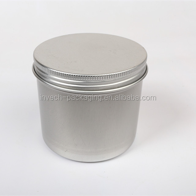 copper/bronze/gold 6oz aluminum can,deep beard balm container 180ml metal tin cans