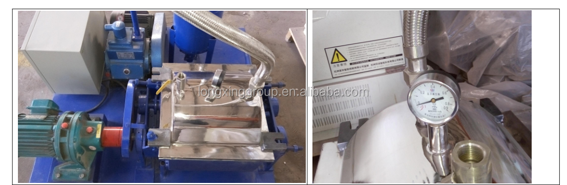 Double  sigma mixer kneader for Lab usage