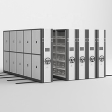 Steel Movable Mass Shelving Compact Metal Mobile <strong>Shelves</strong> for File Box Storage