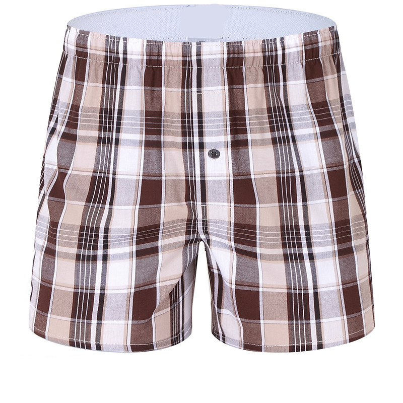 Men use 100%cotton comfortable breathable printing men's shorts