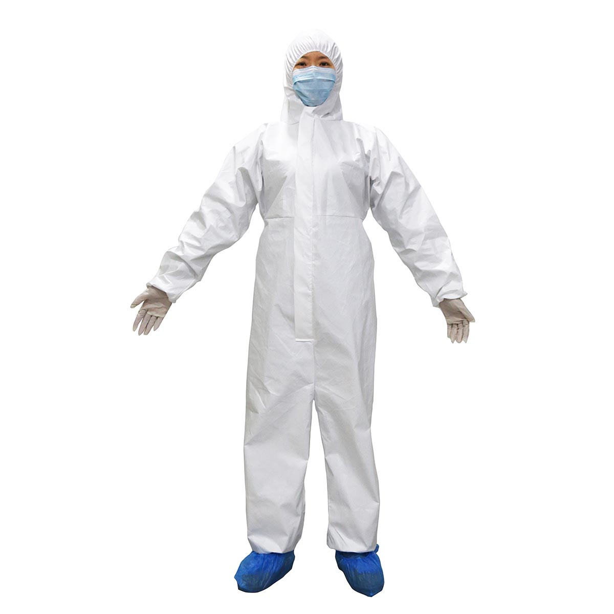 Sterile disposable nonwoven surgical Isolation gown high performance <strong>PP</strong>+PE