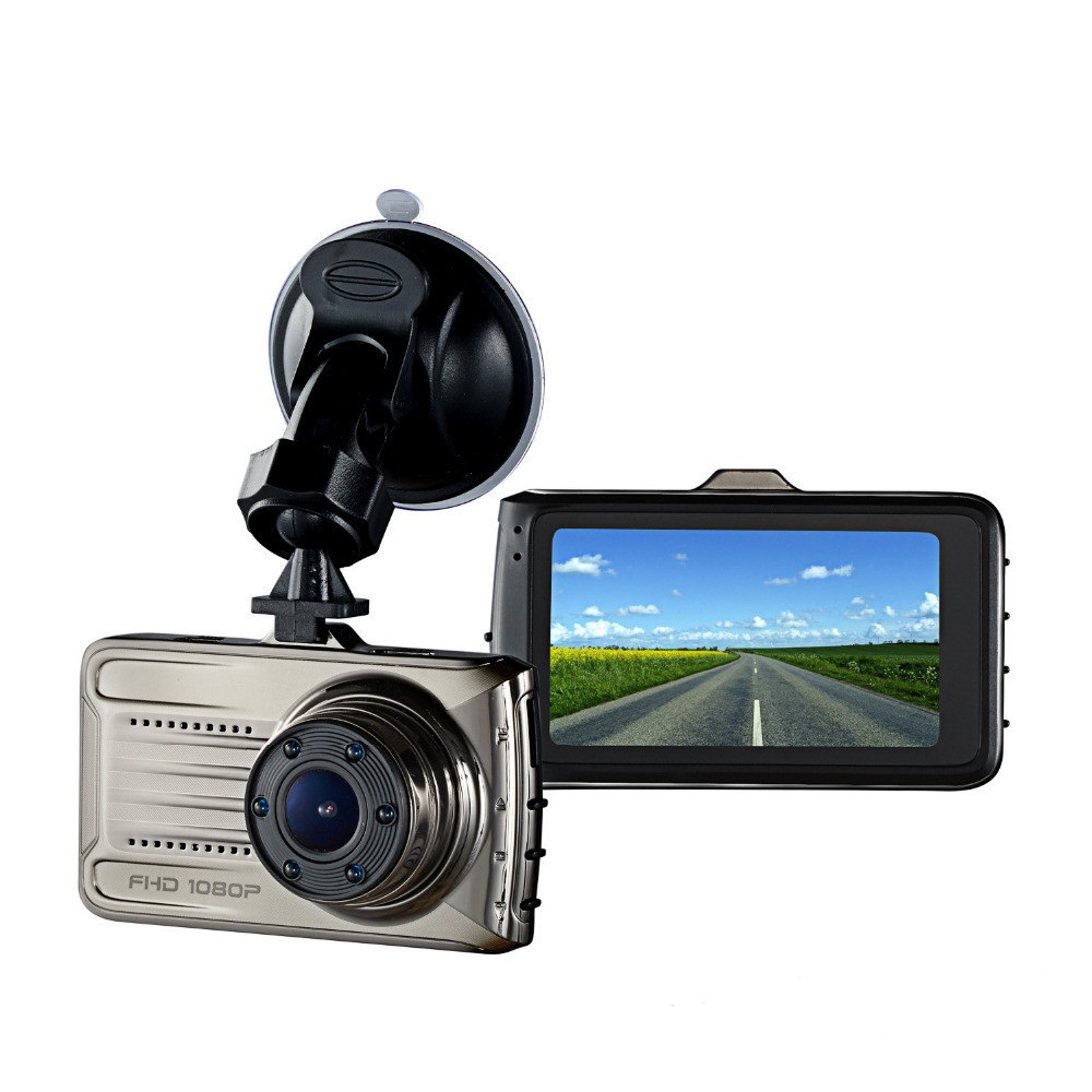 3.0 Inch Wide Angle Motion Detection Car Front Camera with Parking Monitor