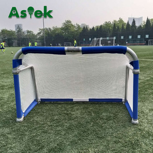 ASTEK Portable Aluminium Folding Mini Soccer Goal