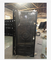 2018 Top Selling Armored Steel Wooden Door Best Italian Steel Security Doors Residential