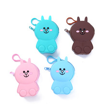 Food Grade Silicone Cartoon Printing Coin Purse Mini Coin Bag Coin <strong>wallet</strong>