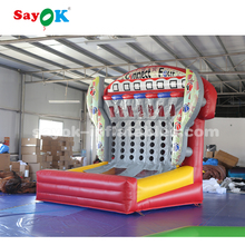 custom carnival games <strong>inflatable</strong> connect 4 in a row <strong>inflatable</strong> basketball hoop