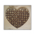 Heart shape  jigsaw puzzle cutting die 300X260MM-80PCS  special SDESIGN Valentine gifts