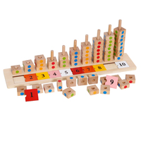 High Quality Educational Counting Toys For Kids Montessori Math Abacus Wooden Toys