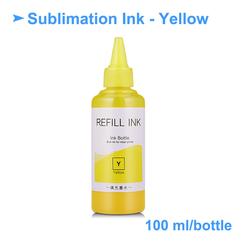 Ocbestjet 100ML/Bottle L805 Sublimation Dye Printer Ink For Epson L355 P50 T50 L100 L110 L200 L210 L800 L805 L810 L1800 Printers