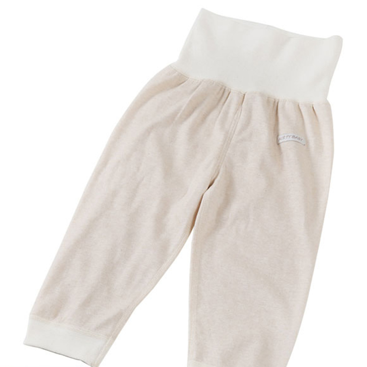 Wholesale Autumn Winter Hot Sale Unisex 0-24 Months Soft Warm 100% Cotton Plain Baby Foot Pants