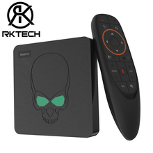 RK New Arrival Beelink GT King 4GB DDR4 64GB 2T2R 2.4GHz/5.8GHz AC Wifi 1000M LAN BT4.1 Android 9.0 TV Box with <strong>Remote</strong>