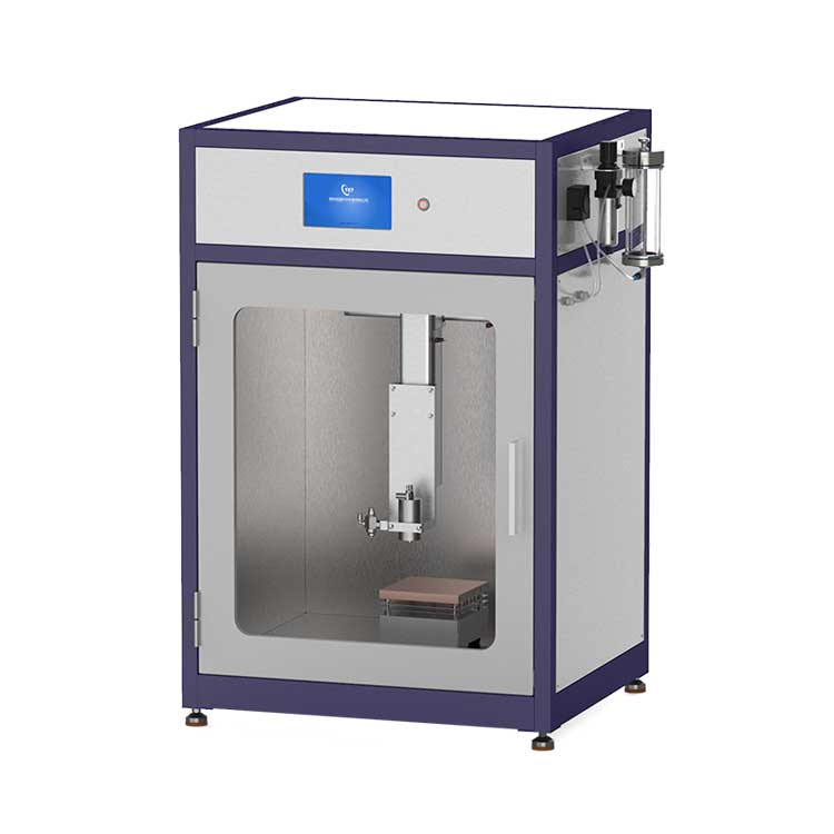 Automatic Ultrasonic Spray Pyrolysis Coating Unit for preparing perovskite solar cell