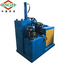 competitive price used electric motor recycling machine ST-400 recycle range 90-250mm motor wrecker electric motor <strong>scrap</strong>