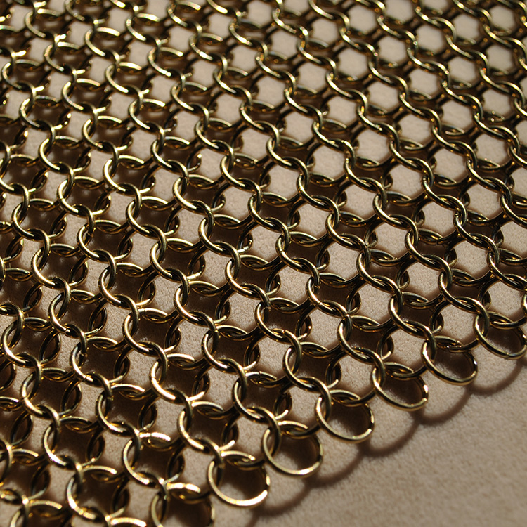 Stainless Steel Chain Mail Scrubber Ring Mesh