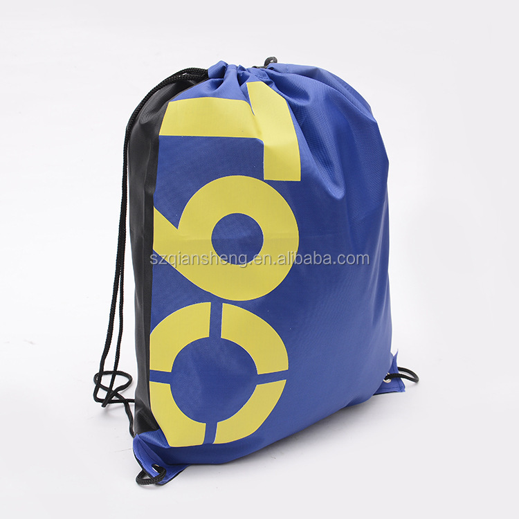 Hot Sale Cloth Drawstring Bags Shoulder Beach Backpack Shoes Clothing Underwear Waterproof Bag Fitness Swimming Sports Storage