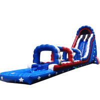 Wholesale inflatable slide amusement park inflatable water slides for kids