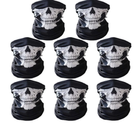 Seamless Skull Face Mask Skeleton Tube Face Mask Rave Mask