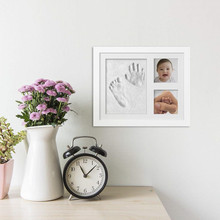 Colorful Fashion 3D Baby Handprint Frame Clay