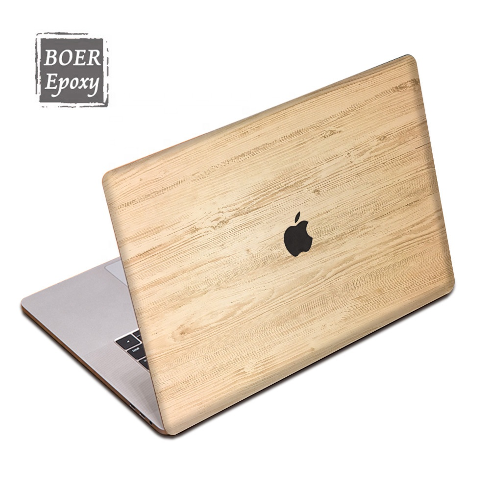 For macbook air accessories fashional wooden grain 11 inch cover for macbook air body