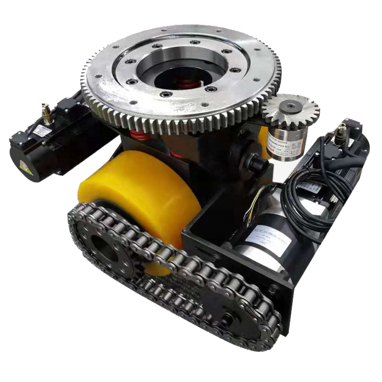 TZBOT 48V DC 3 ton Heavy duty differential unit AGV <strong>wheel</strong> TZCS-750-30