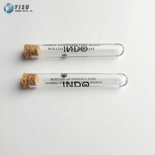 Transparent pre roll tubes and test tube plastic