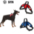Nylon  harnesses strap stretched collar Dog Training Traffic Leading