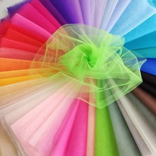 Bulk price polyester <strong>100</strong> yards mesh fabric tulle roll wholesale