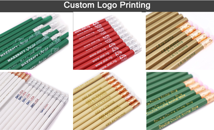 Custom Standard Pencil Personalized with Logo
